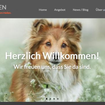 Neue Webseite: Angst vor Hunden